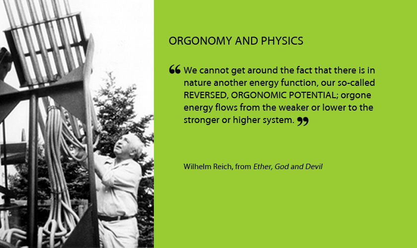 Orgonomy and physics